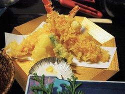 特選蟹づくしの天ぷら