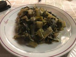 Verdura cotta all'aglio