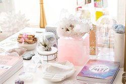 Crystals, Tarot, Home Decor, and Intentional Gifts.