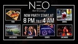 ENJOY NEO EXPERIENCE ...... #Enjoy_Neo_experience #Neo_lounge_alexandria #NeoLoungeAlexandria #Alexandria_Nightlife #Alexandria_Where_To_Go #Alexandria_At_Night #Neo_Sports_Bar #Neo_Bar #Neo_Lounge