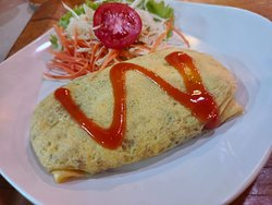 Pad Thai with omlat.