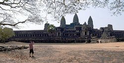 Dia inteiro Templos de Angkor de bicicleta