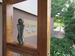 Lily Pond exterior and logo