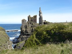 Sinclair Castle, near Wick
