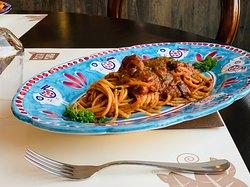Spaghetto con Polpi Veraci
