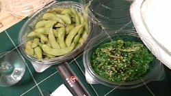 Alghe ed Edamame