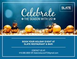 Celebrate the season with us!