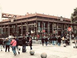 Mercado from the pedestrian walkways