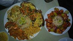 Seafood kingdom...