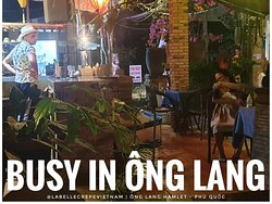 Caption: Busy in Ông Lang...it's full of big family! How kids look happy! Bliss! Thank you!  Where to find us: La Belle Crêpe at the crossroad to@mangobayphuquoc  Phú Quốc, Vietnam. If you are near Ông Lang Beach, come and try some of the best Brittany crepes you'll ever eat! Our team welcomes you!  Contact us here: m.me/labellecrepevietnam  #vietnam#vietnamtravel #onglangbeach#phuquoc #crêpes#crepes