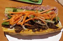 BBQ Beef Banh Mi
