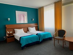 Twin room with two separate beds