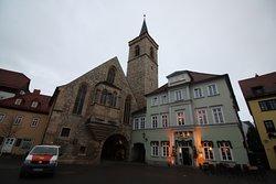Church of St. Aegidius is the main landmark of Wenigemarkt.