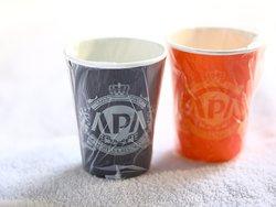 個包装で清潔なアパラップドカップ