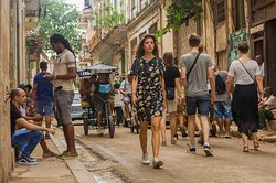 """Walking through Old Havana. Great Morning for pictures!!!"""