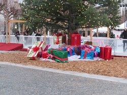 Presents Under the Christmas Tree, Civic Center, San Francisco, Ca