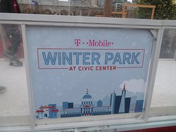 Winter Park Ice Skating Rink at Civic Center, December 2019