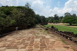 The view of terrace of elephant from north side.
