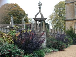 Part of the gardens at Montacute House