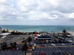 Blick auf Kings Beach vom 5. Stock.