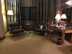 A view of the executive room lounge area