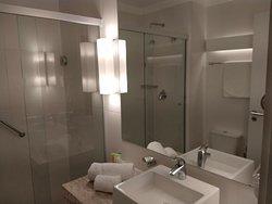 Instalações de banho do Radisson