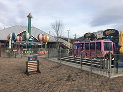 "Our five year old Granddaughter wore out every ride in ""Cub Country"" where they have rides including a carousel, kiddie swings,  Twirling Balloons, Crazy Bus, and Little Shot"