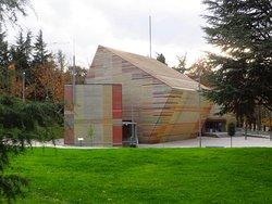 L'auditorium di Renzo Piano, all'interno del parco