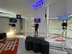 The best looking VR arcade we have ever visited!