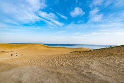 The Tottori Sand Dunes are one of the finest coastal sand dunes in Japan.  You will find different images here depending on the time of day and seasons.  There are also a number of facinating attractions unique to the dunes. Let's enjoy the beautiful sceneries and activities here! http://social.jal.co.jp/dBb #nature #dune #landscape