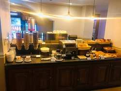 The part of breakfast for more western oriented guests