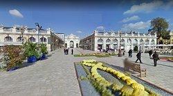 Nancy - place Stanislas - vue panoramique 2