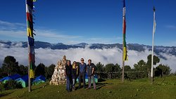 Relaxing in Bhutan