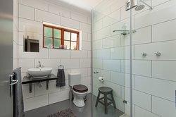 Example (Sunbird) of cottage interior - guest bathroom