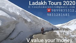Ladakh 2020 Package Tours Tony Bike Centre is ready with the #LadakhPackages on #RoyalEnfield/ #MUV / #Tempotraveler - 11 Itineraries - 7 fixed departures for each. We value your money & will justify what you paid to us. Leave all to us and just book your dream destination and explore the unseen Ladakh. Enjoy & #TravelSafe with us. BOOK NOW www.tonybikecentre.com TBC Travel Group
