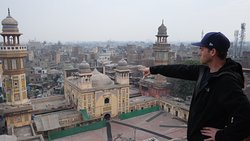 Looking over Lahore from top of Minaret