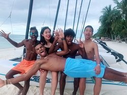 Great service team!  Fun fun fun!  If you would like to have a great holiday, visit Maldives Kani, memorable experience!