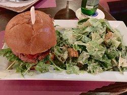 Turkey Burger--The Long Room--120 W 44th St.--NYC, NY