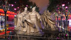 Kaiyuan Square - lighted statue