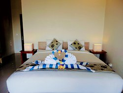 Queen Bed in Superior Room with Sea View