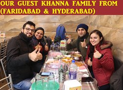 OUR GUEST FROM (HYDERABAD & FARIDABAD)