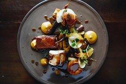 Pork Belly, Braised Carrot & Kohl Rabi
