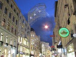 Street lights at Stephansplatz