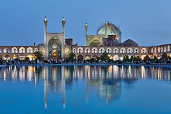 The masjid-imam ,formaly known as masjid shah regarded as a masterpiece of persian architecture in the islamic era.