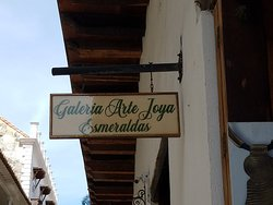 Charming place to purchase Emeralds in the Old Walled City of Cartagena, Columbia