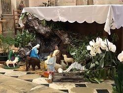 Crèche de l'Église Saint-Éloi de Roissy-en-France, le 24/12/2019