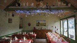 Décorations de la salle pour Noël