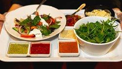 Dips & Salads