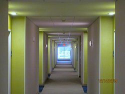 4th-floor hallway.