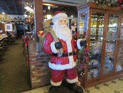 Santa, Harry's Hofbrau, Redwood City, CA